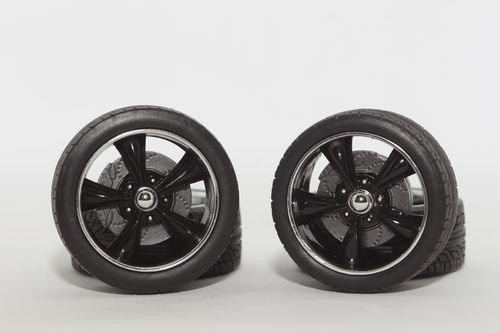 "1:18 Felgensatz 19"" 5-Spoke black 