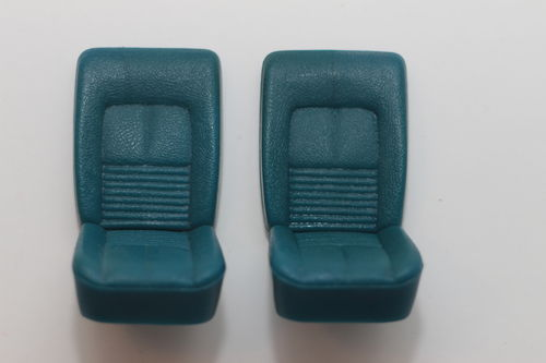 1:18 Ledersitze blau | leather seats